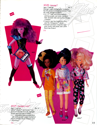 Hasbro 1987 US Toy Fair Catalog - 4020 Synergy™,  4025 Starlight Girls™