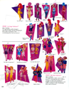 Hasbro 1987 US Toy Fair Catalog - 4040 On Stage Fashions™, 4045 Flip Side Fashions™