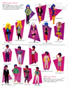 Hasbro 1987 US Toy Fair Catalog - 4050 Smashin' Fashions™ , 4050 Rio™ Fashions