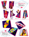 Hasbro 1987 US 1st Quarterly & Media Guide - 4055 Jem's Glitter 'N Gold Fashions™ Asst., 4055 Jem™ Wrist Rocks™