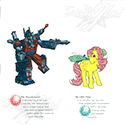 1986 Hasbro Licensing Brochure - Jem and the Holograms, Mr. Potato Head, Transformers, My Little Pony, GI Joe, Glow Worm