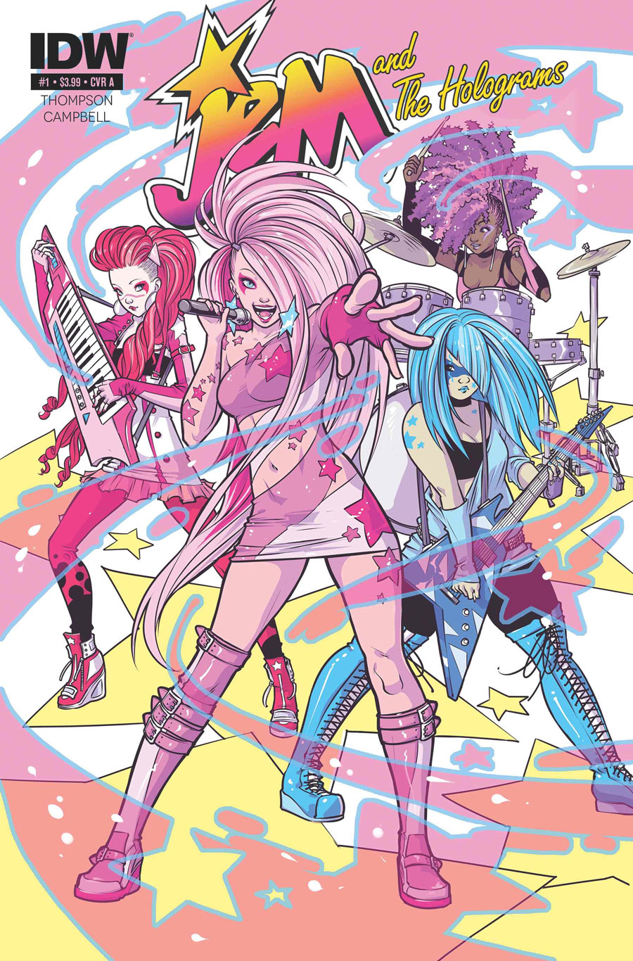 JEM the Comic Book!(April 2015)