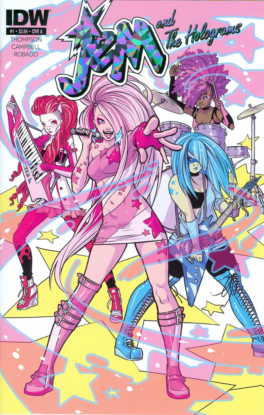 JEM the Comic Book! #1