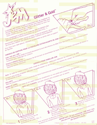JEM Instructions - Glitter'n Gold Jem/Jerrica 4001 1987