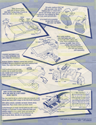 JEM Instructions - New Wave Waterbed 4078 1987