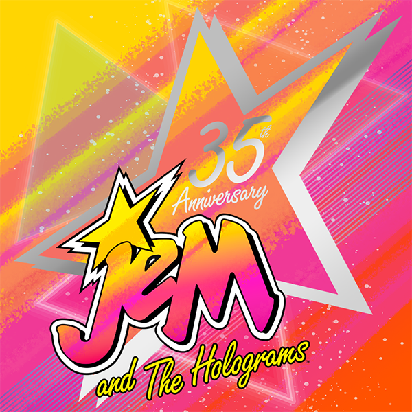 Integrity Toys JEM AND THE HOLOGRAMS 35th anniversary!