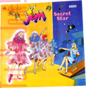 Jem Secret Star - 1986 A Golden Book/Western Pub. Co. 10190