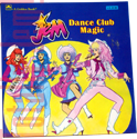 Jem Dance Club Magic - 1986  A Golden Book/Western Pub. Co. 10191