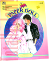 Jem: Paper Doll - 1986 A Golden Book/Western Pub. Co. 1524