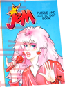 Jem: Puzzle and Dot to Dot Book - 1986 World International Publishing/Tempo 8625