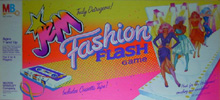 Jem Fashion Flash  - 1986 Milton Bradley