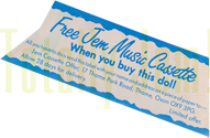 "UK JEM ""Free Cassette Offer!"""