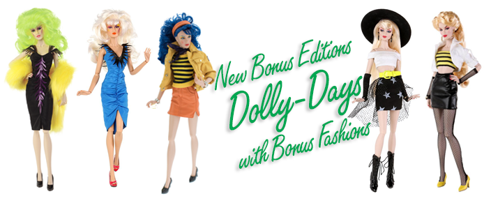 Dolly-Days - New Editions with bonus fashions