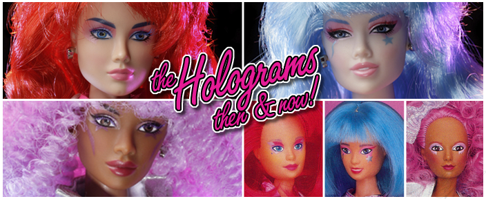 The Holograms - Kimber Benton™, Aja Leith™ & Shana Elmsford™