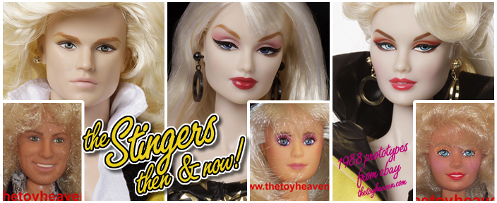 "The Stingers - Rory ""Riot"" Llewelyn™, Ingrid ""Minx"" Kruger™ & Phoebe ""Rapture"" Ashe™"